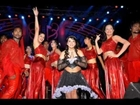 Saloni Hot Dance Stage navel boobs show