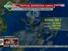 QRT: Weather update sa of 05:35pm (July 20, 2012)