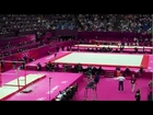 Aly Raisman on Uneven Bars & Rebecca Tunney in Action | GYMNASTICS ALL AROUND FINAL | LIVE 8-2-12