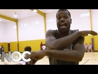 NBA's Stephen Jackson World's Greatest Basketball Coach: Ice Bucket