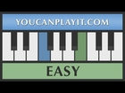 Sonic the Hedgehog - Special Stage [Easy Piano Tutorial]