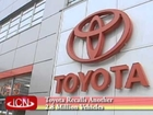 11.14.2012 ICNSF News - Toyota Recalls Another 2.8 Million Vehicles