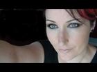 Kristen Stewart Makeup Tutorial - Sultry Burgundy Smokey Eye - Bio/Organic