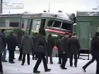 A Russian Train Crash Test, extreme high speed