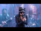 [HD] Yoko Ono - Cheshire Cat Cry (Ft. The Flaming Lips) - David Letterman 10-2-13