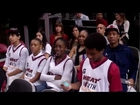 Miami Heat Miami Herald Academic Sportsmanship honorees and parents Feb. 2013