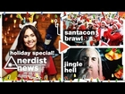 Saruman Sings, Santa Fights & more!: Nerdist News Holiday Special w/ Jessica Chobot