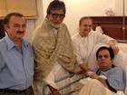 Amitabh Bachchan Meets Dilip Kumar In Hospital
