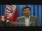 Iranian President Ahmadinejad 2008 Christmas Message Speech