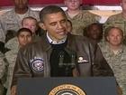 Visite surprise d'Obama en Afghanistan