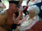 100-year-old Woman Gets Stripper For Birthday
