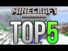 Top 5 Minecraft Xbox 360 Structures - CHRISTMAS CREATIONS! (Holiday Special)
